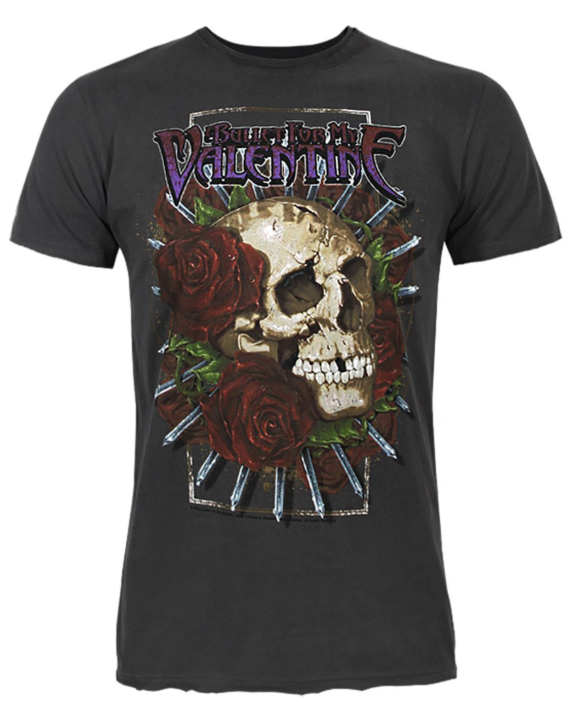 Amplified Bullet For My Valentine Cries In Vain Men's T-Shirt