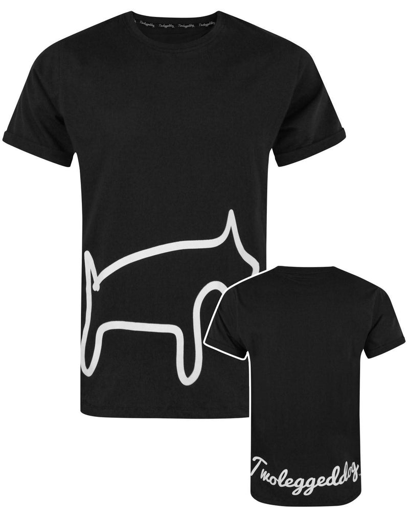 Two Legged Dog Logo Men's T-Shirt