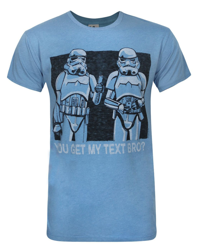 Junk Food Star Wars You Get My Text Men's T-Shirt