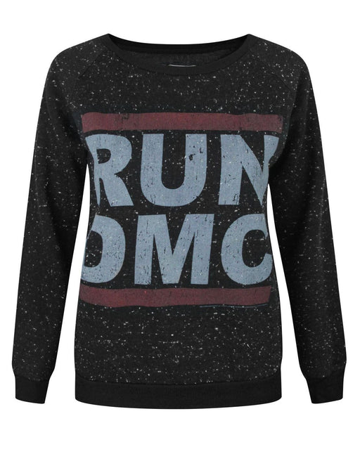 Amplified Run DMC Logo Women's Speckled Sweater