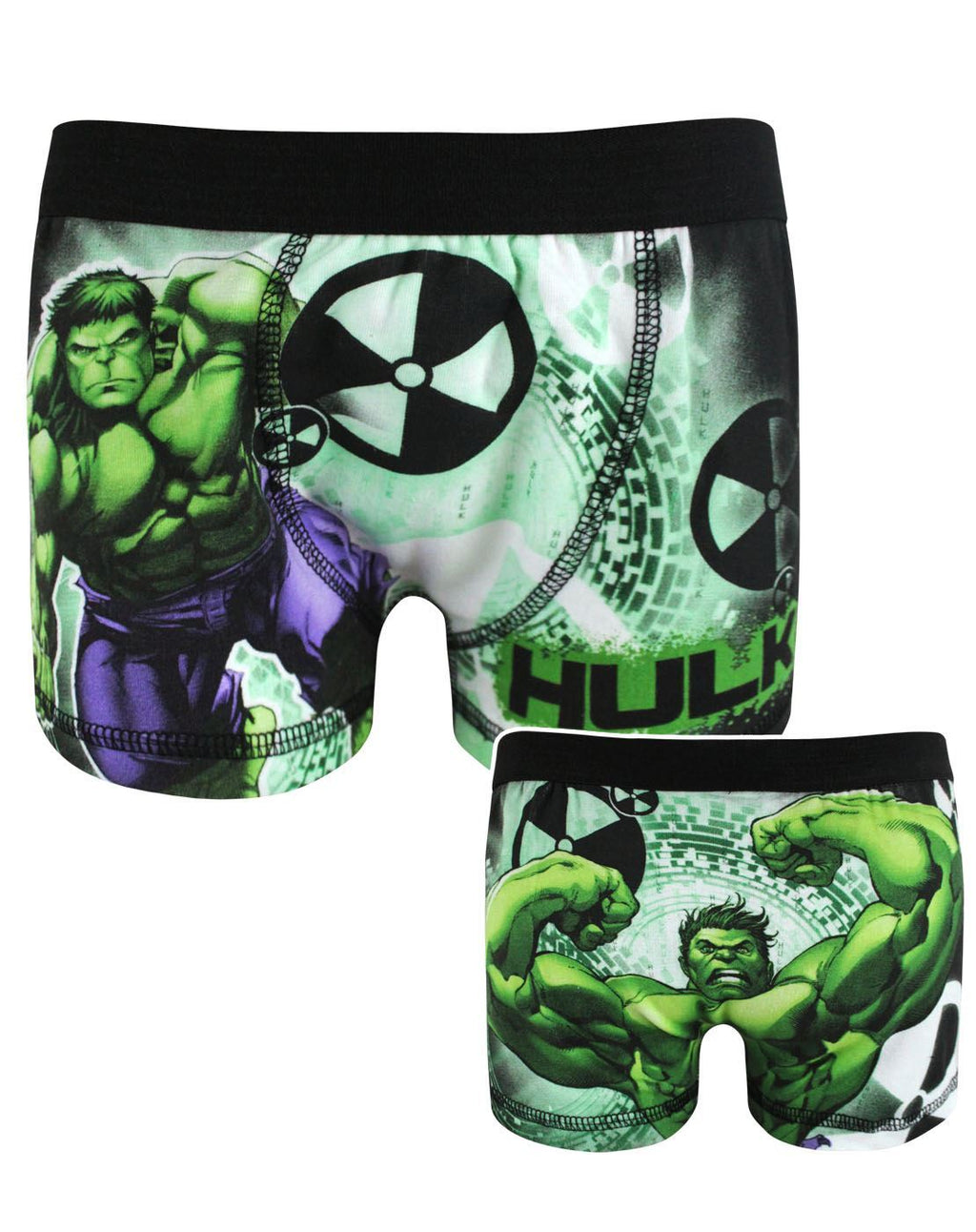 Marvel Hulk Boy's Boxer Shorts