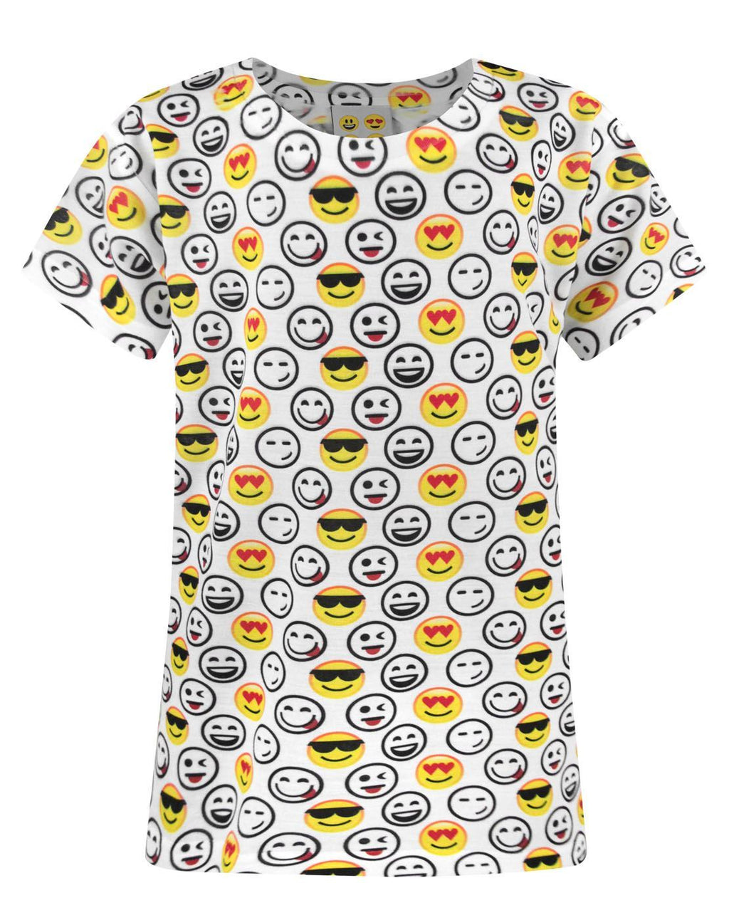 Emoticon Sublimation Girl's T-Shirt