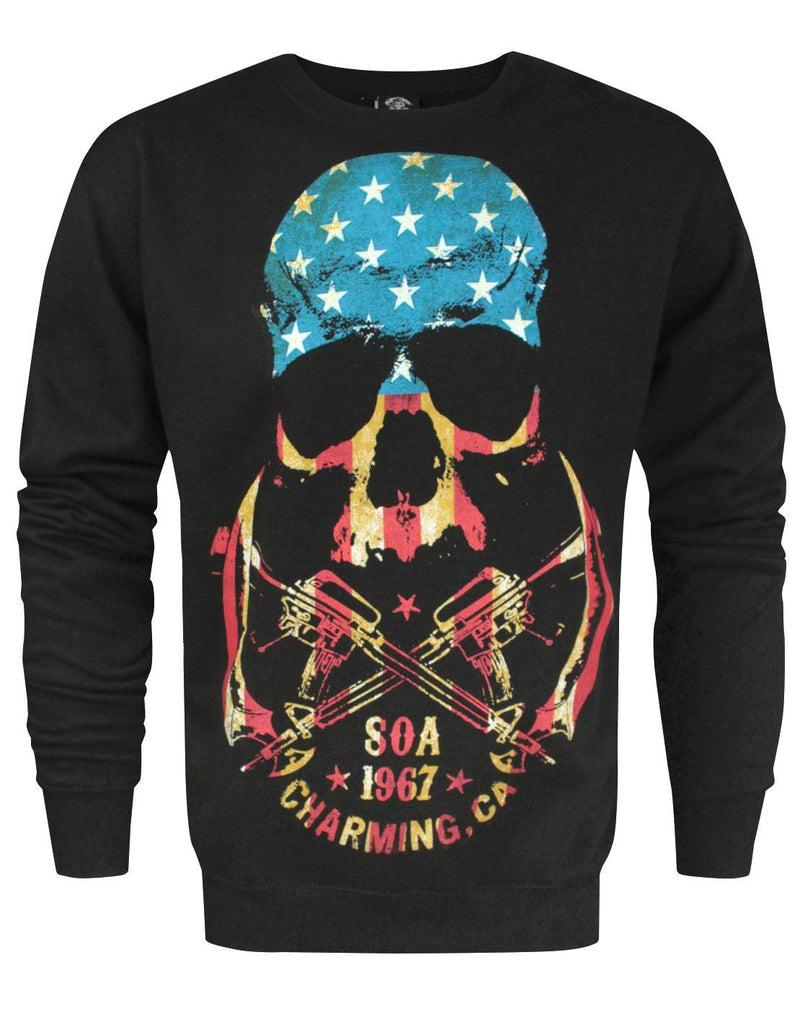 Sons Of Anarchy Skull Men's Sweater
