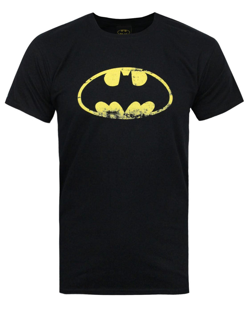 Batman Distressed Emblem Men's T-Shirt