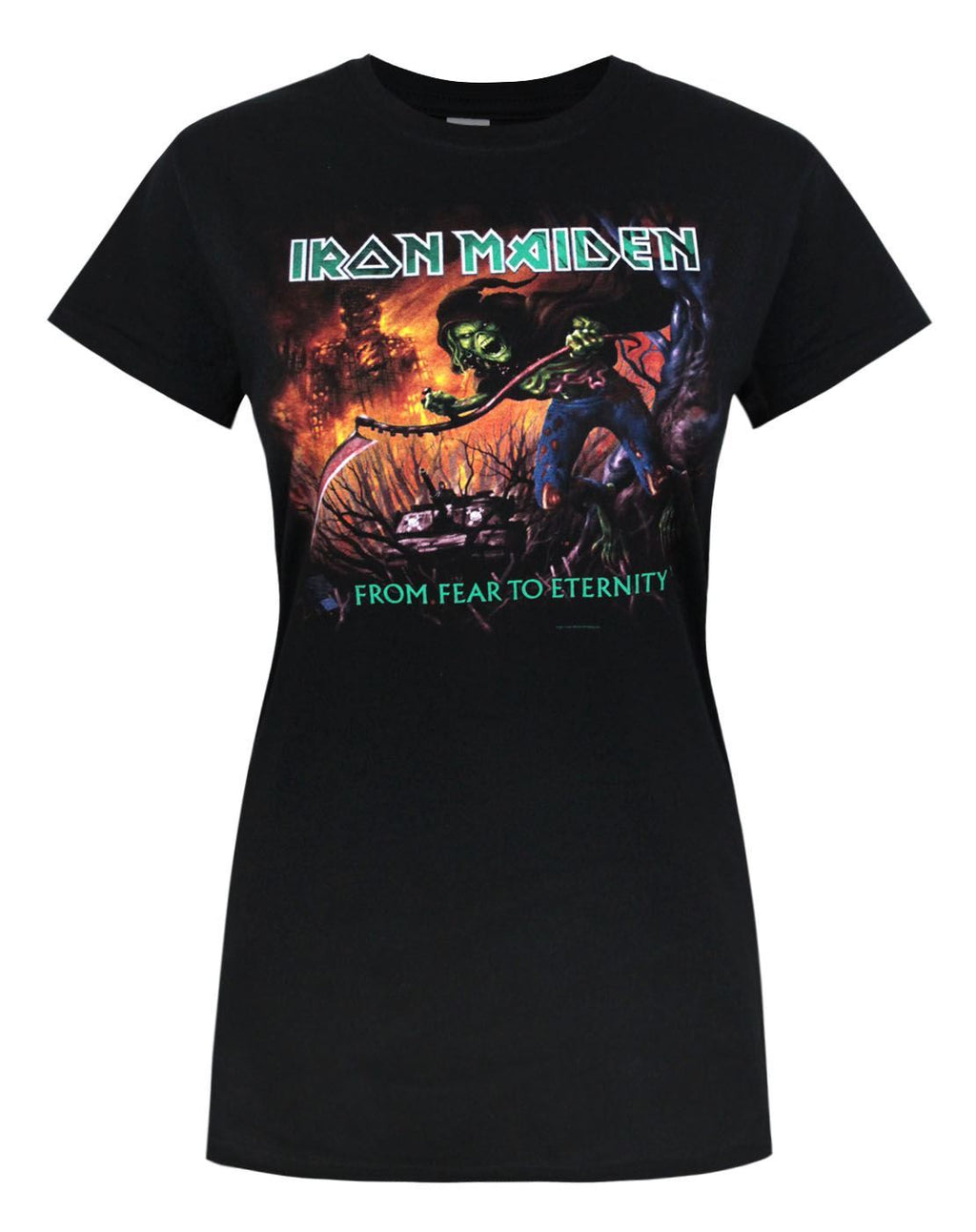 Iron Maiden From Fear To Eternity Women's T-Shirt