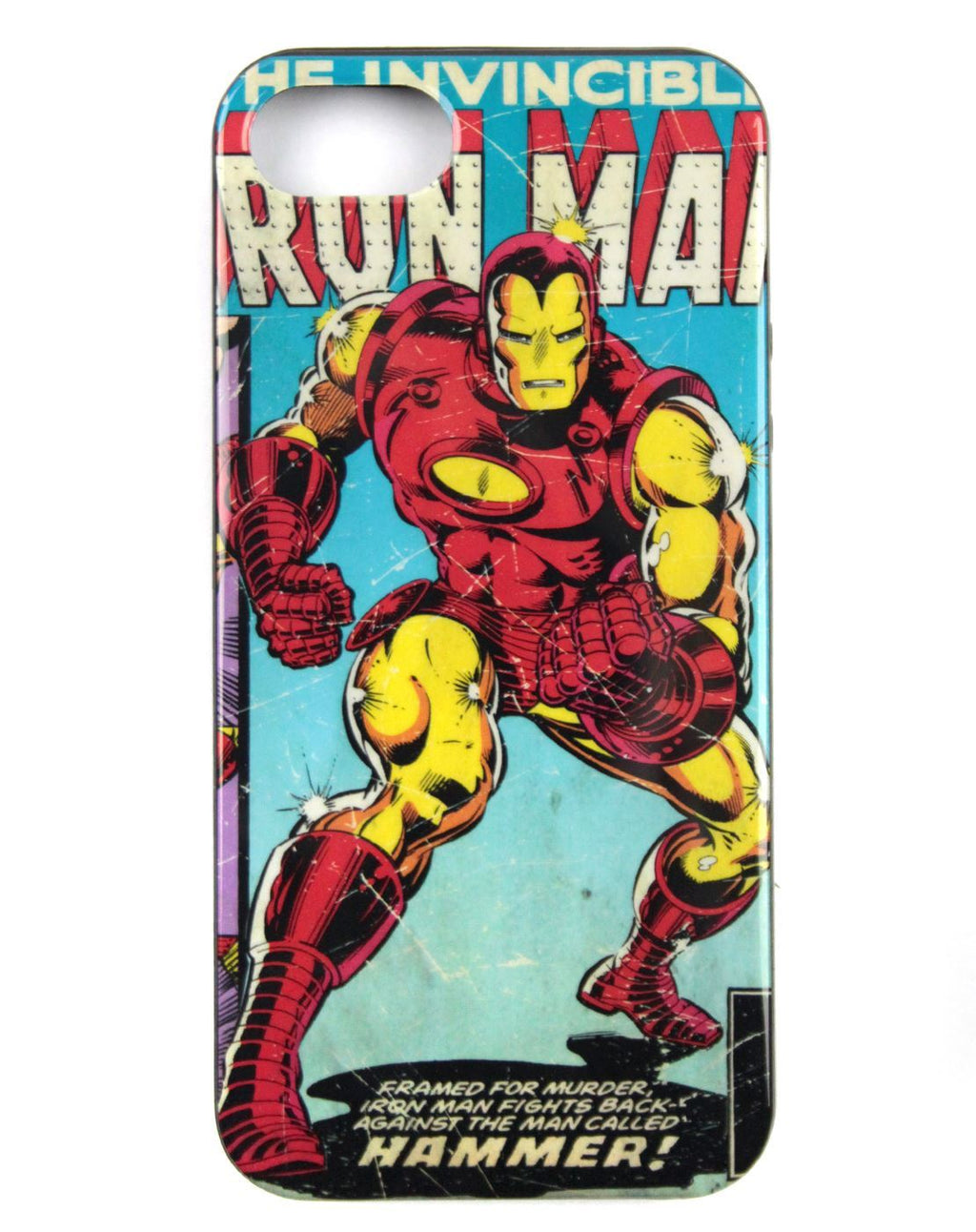Marvel Iron Man Retro Comic iPhone Case