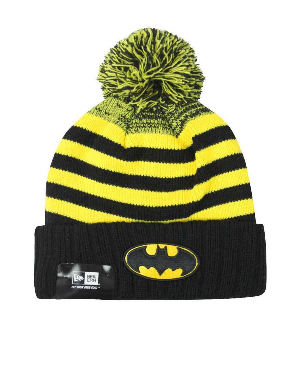 New Era Batman Snowfall Striped Knit Hat