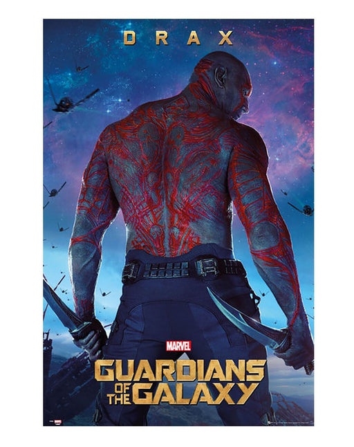 Guardians Of The Galaxy Drax Poster