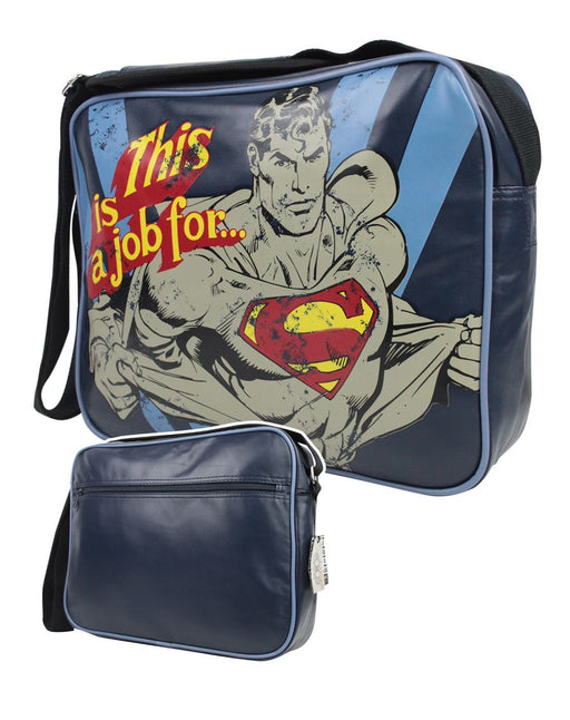 Superman This Is A Job For... Messenger Bag
