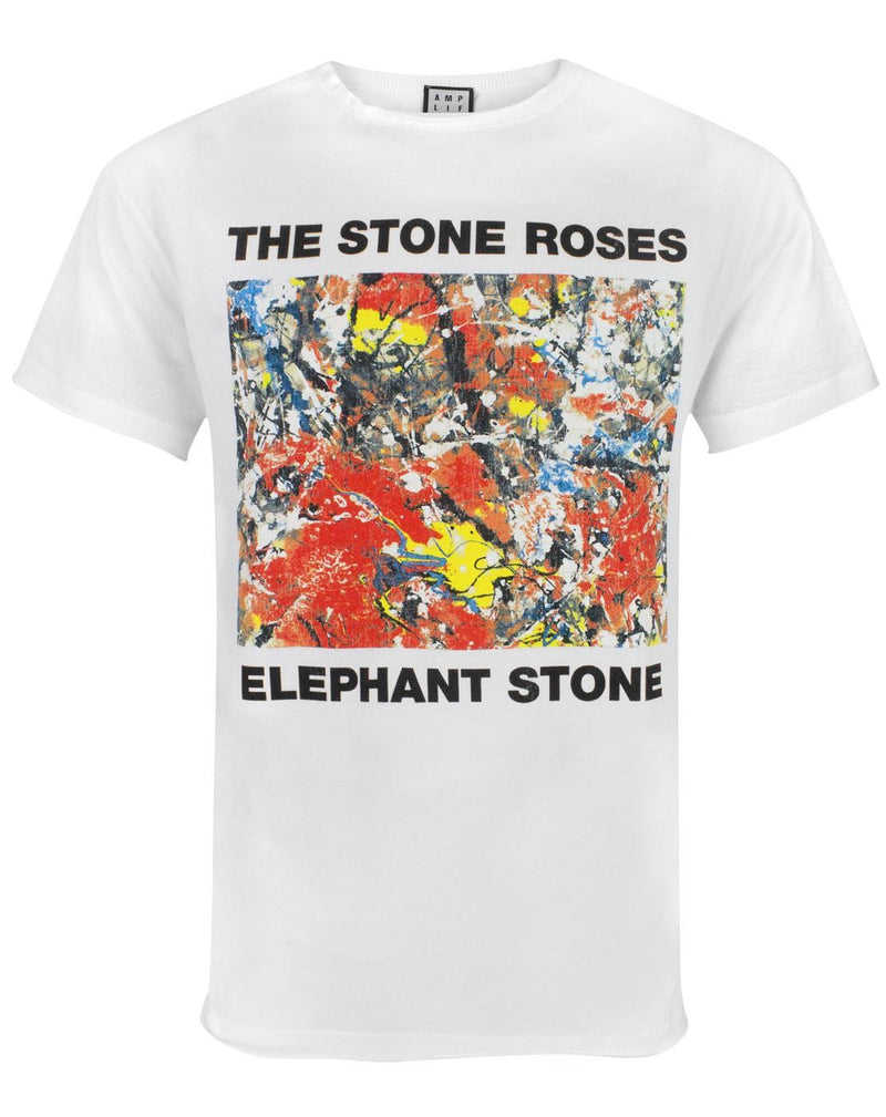 Amplified Stone Roses Elephant Stone Men's T-Shirt