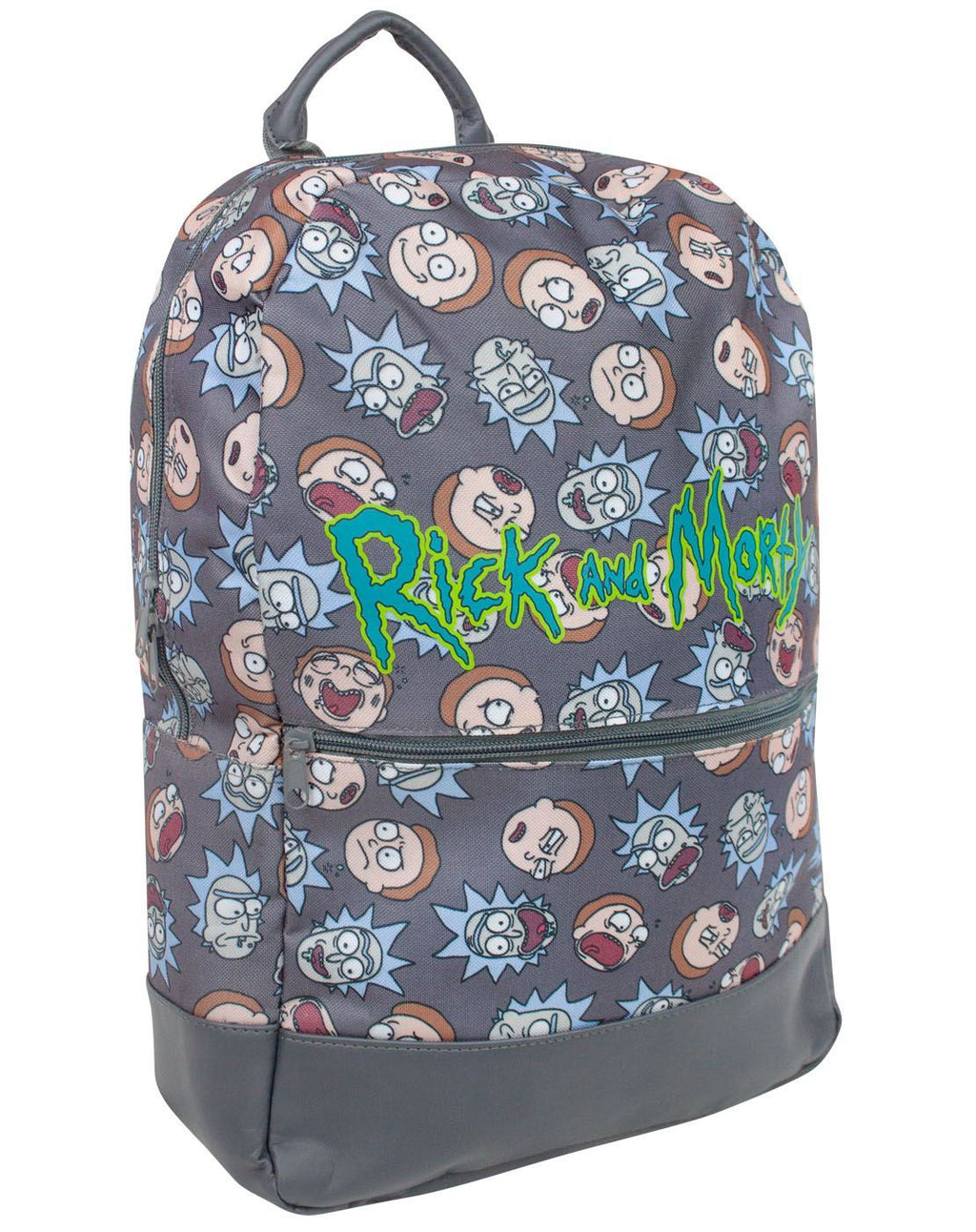 Rick And Morty Faces Backpack