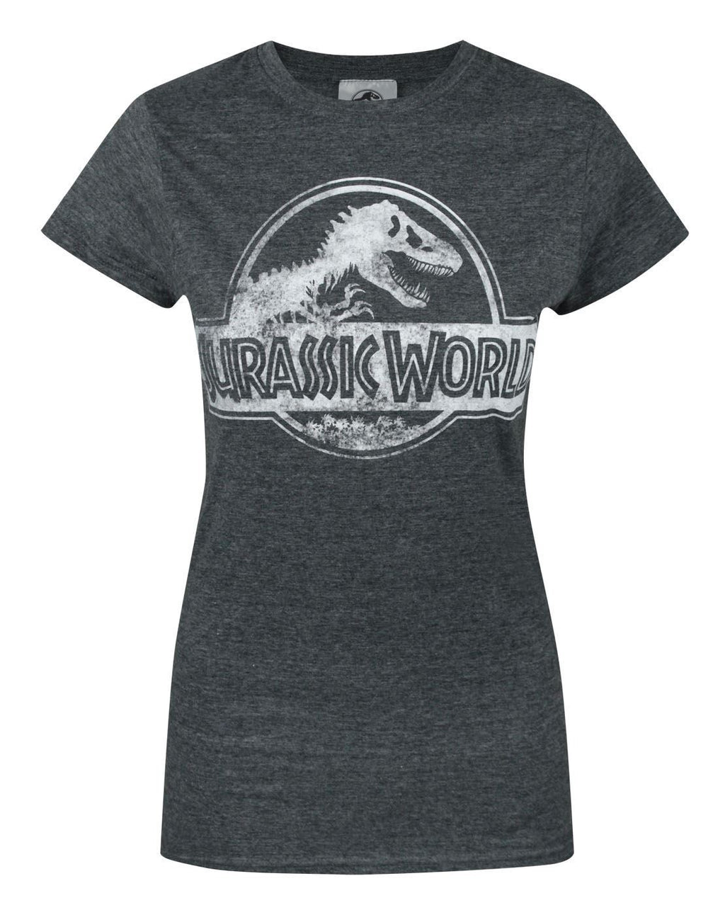Jurassic World Distressed Logo Women's T-Shirt