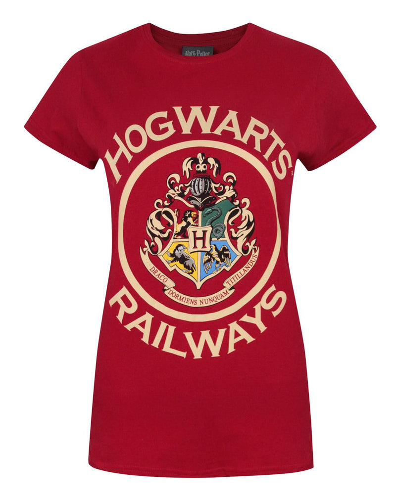 Harry Potter Hogwarts Railways Women's T-Shirt