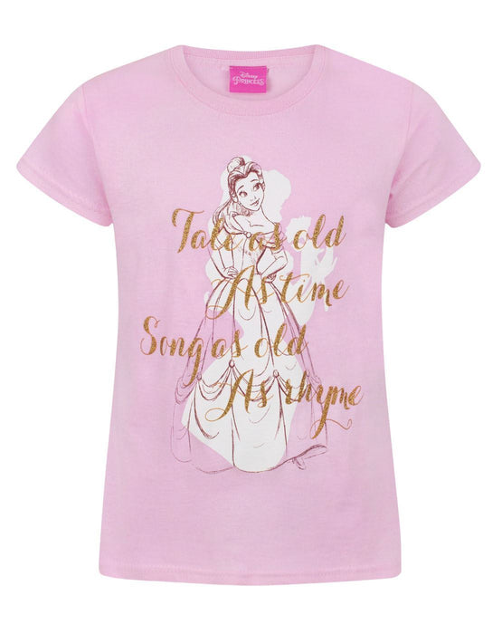 Disney Beauty And The Beast Tale As Old As Time Girl's T-Shirt
