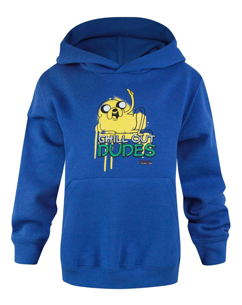 Adventure Time Chill Out Boy's Hoodie