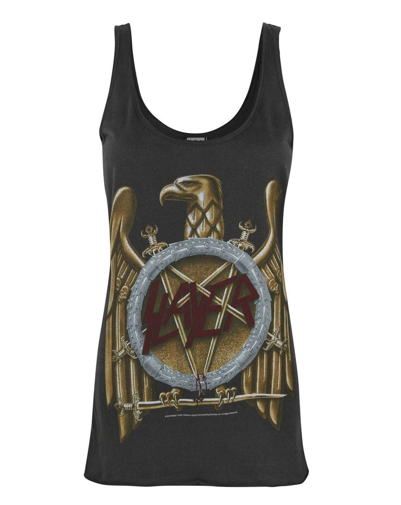 Amplified Slayer Eagle Logo Women's Vest