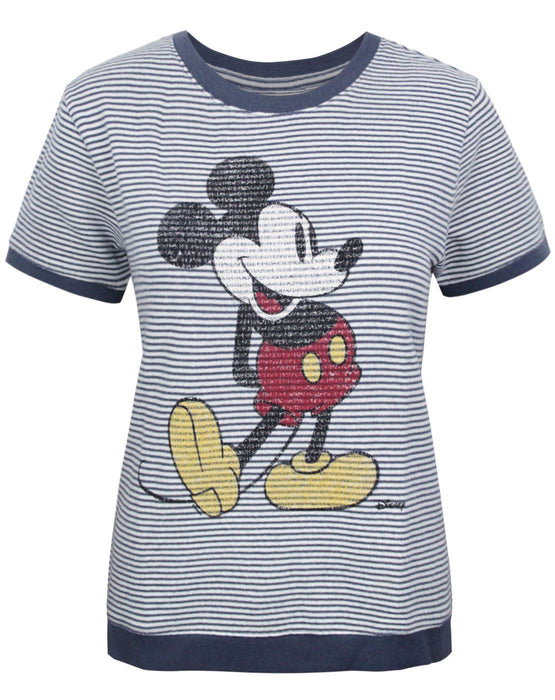 Junk Food Mickey Mouse Women's Short Sleeve Jumper