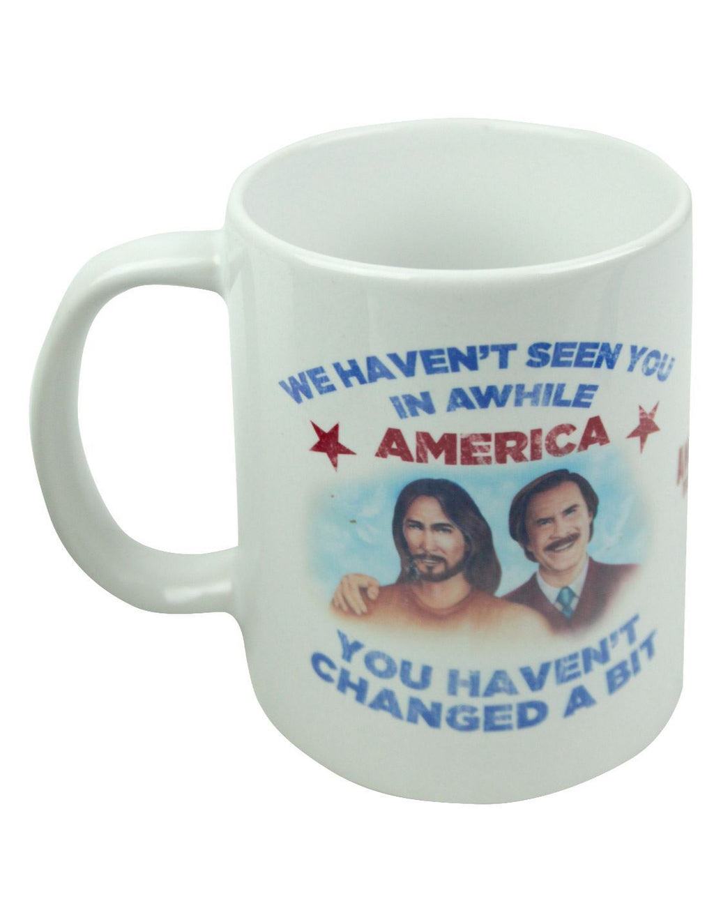Anchorman 2 Ron And Jesus Mug