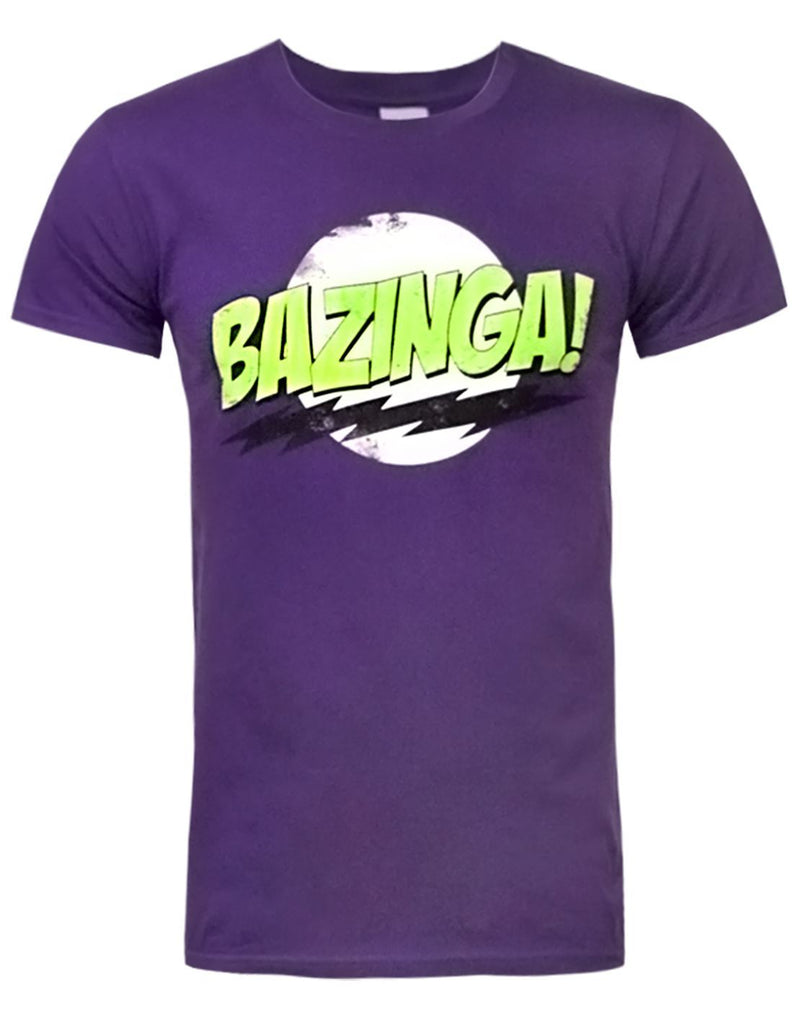 Big Bang Theory Bazinga Men's T-Shirt by Worn