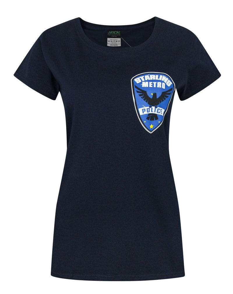 Arrow Starling City Metro Police Women's T-Shirt
