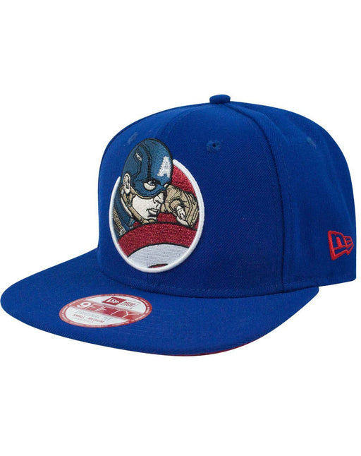 New Era 9Fifty Captain America Retroflect Snapback Cap