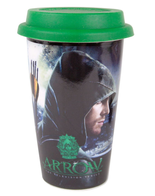 Arrow Ceramic Multi-Colour Travel Mug