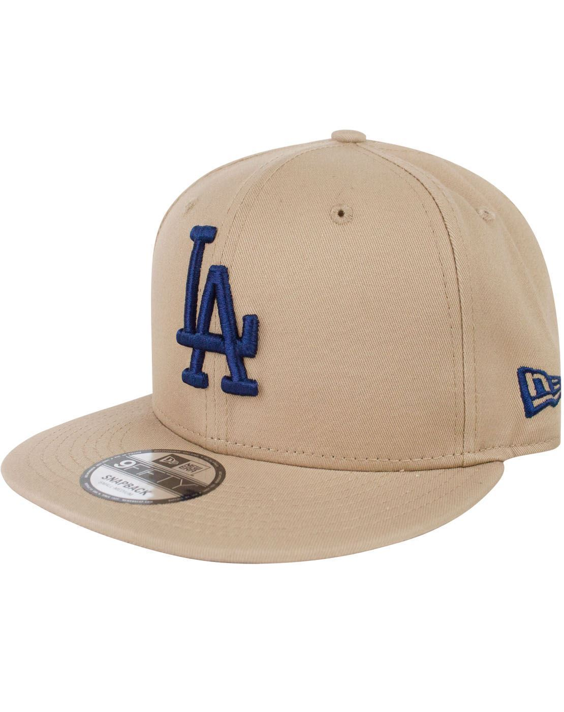 newest 3350b f8801 New Era 9Fifty MLB League Essential Los Angeles Dodgers Snapback Cap –  Vanilla Underground