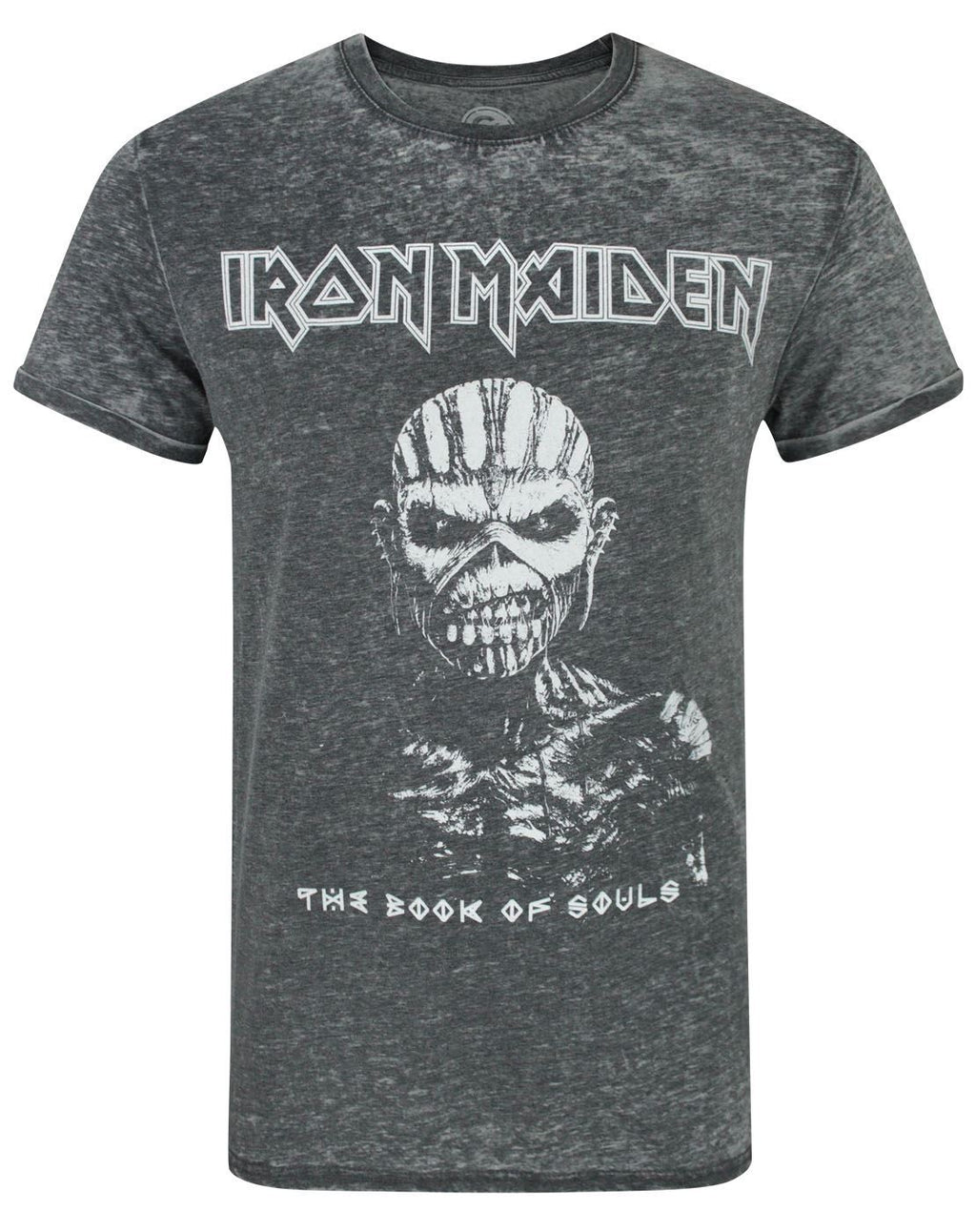 Iron Maiden Book Of Souls Burn Out Men's T-Shirt