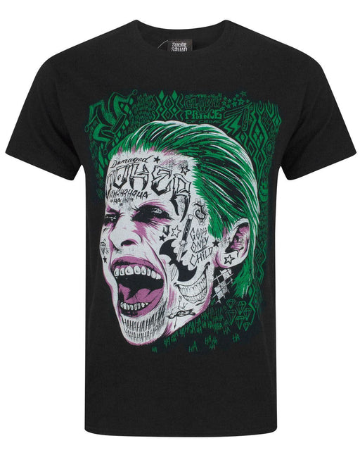 Suicide Squad The Joker Face Men's T-Shirt