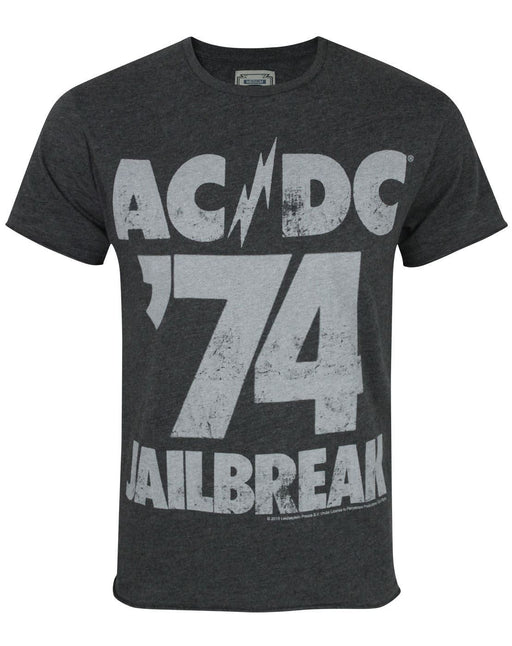 Amplified AC/DC '74 Jailbreak Men's T-Shirt