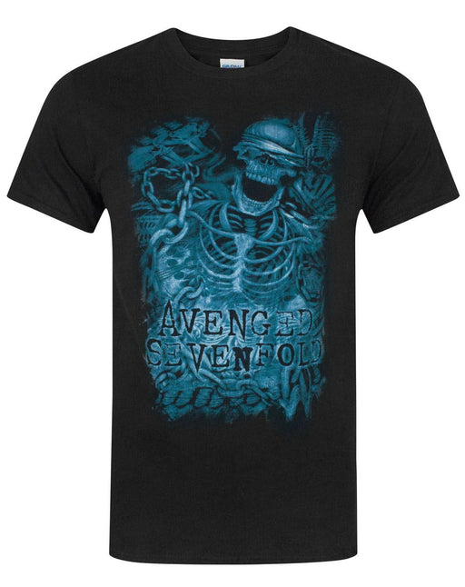 Avenged Sevenfold Chain Skeleton Men's T-Shirt