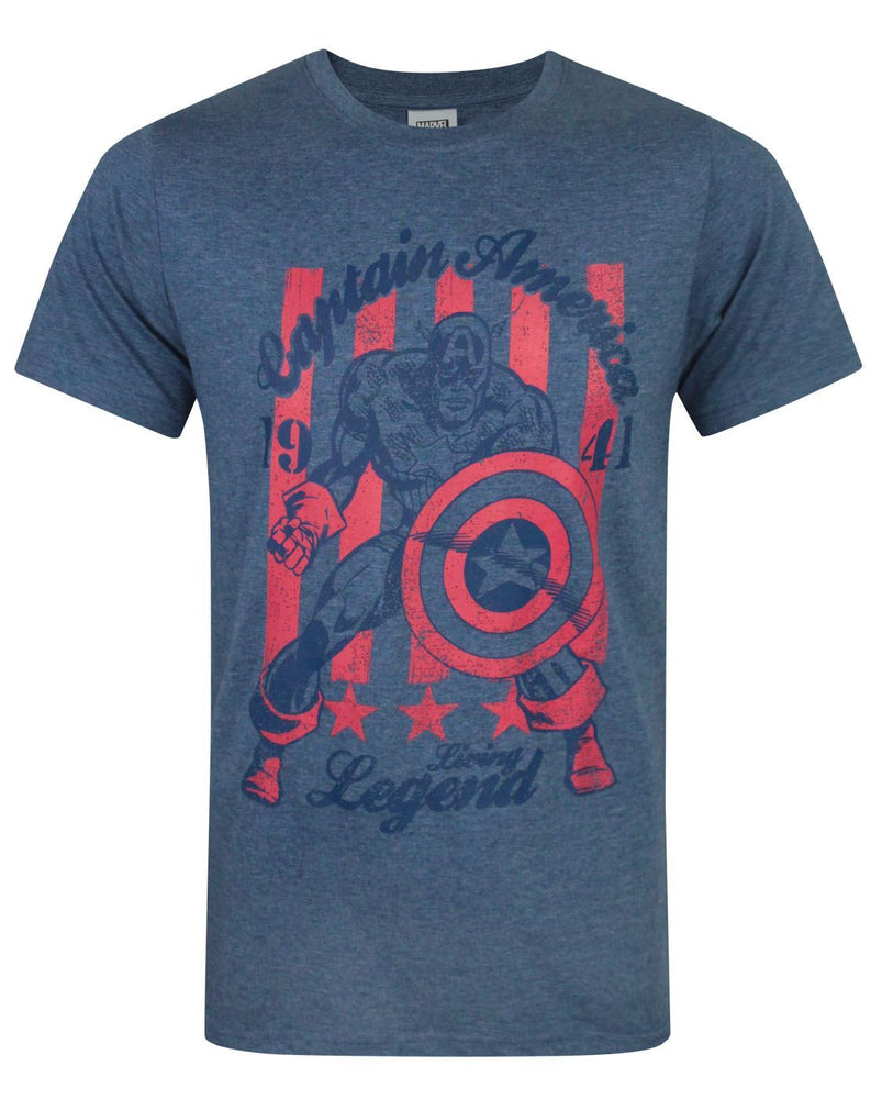 Captain America Living Legend Men's T-Shirt