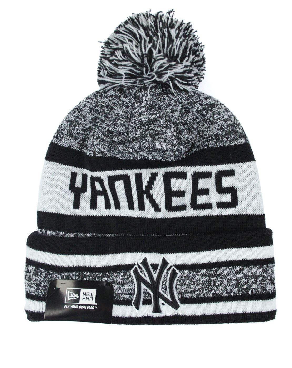 f17a3ec96aa New Era MLB New York Yankees Block Word Knit Hat – Vanilla Underground
