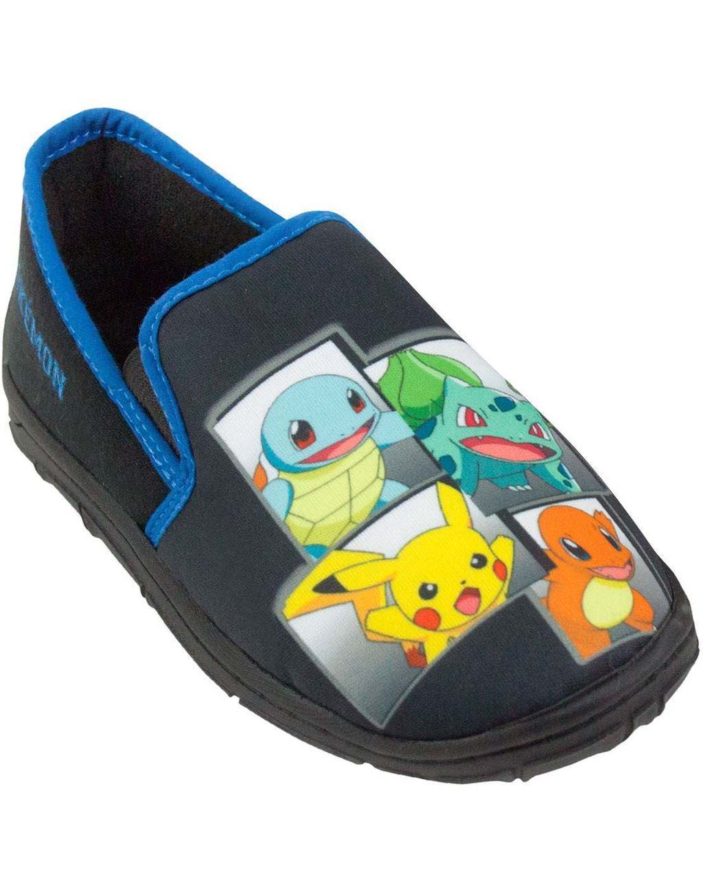 Pokemon Characters Boy's Slippers