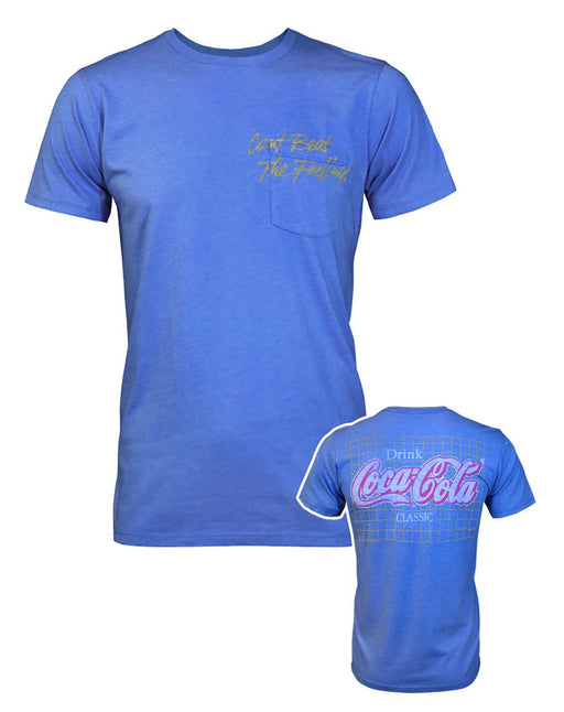 Junk Food Coca-Cola Can't Beat The Feeling Men's T-Shirt
