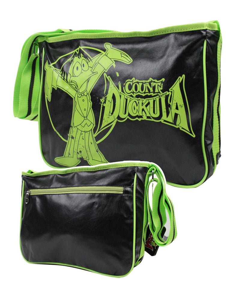 Count Duckula Graphic Messenger Bag