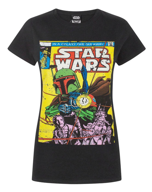 Star Wars Boba Fett Comic Women's T-Shirt