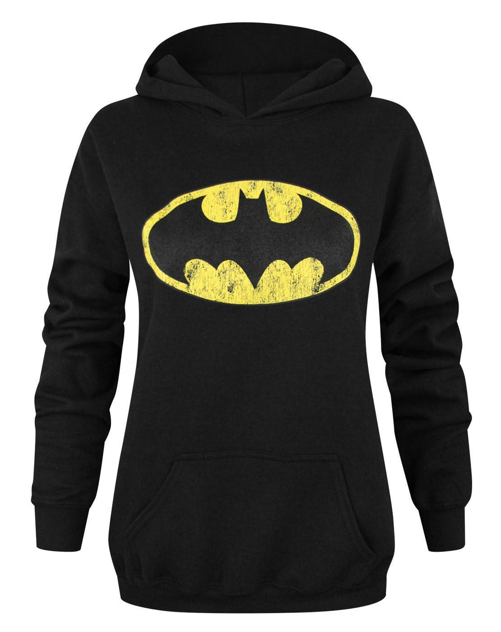 Batman Distressed Logo Women's Hoodie