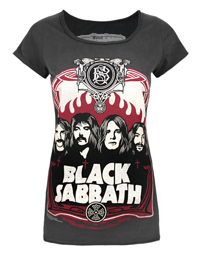 Amplified Black Sabbath 1978 US Tour Womens Vest