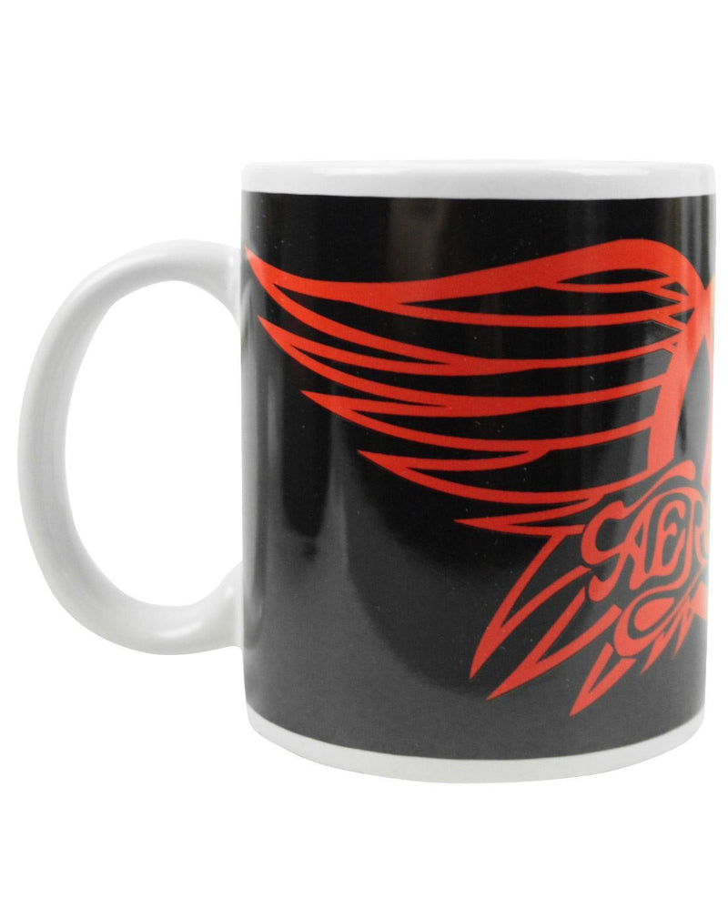 Aerosmith Red Wings Logo Mug