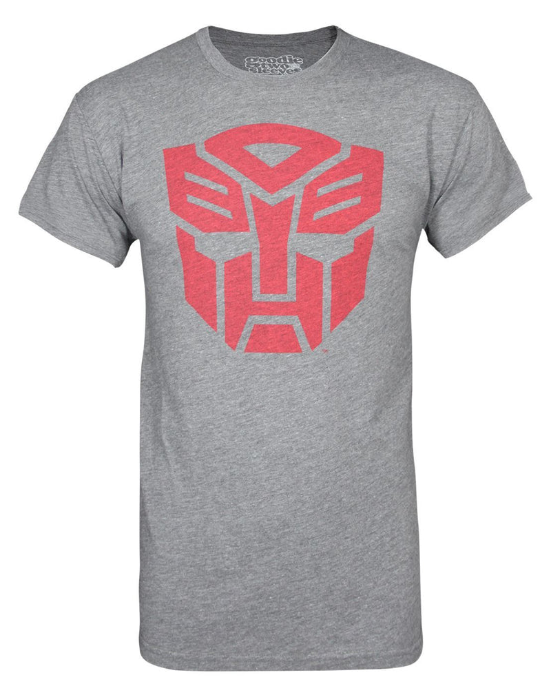 Goodie Two Sleeves Transformers Autobots Men's T-Shirt