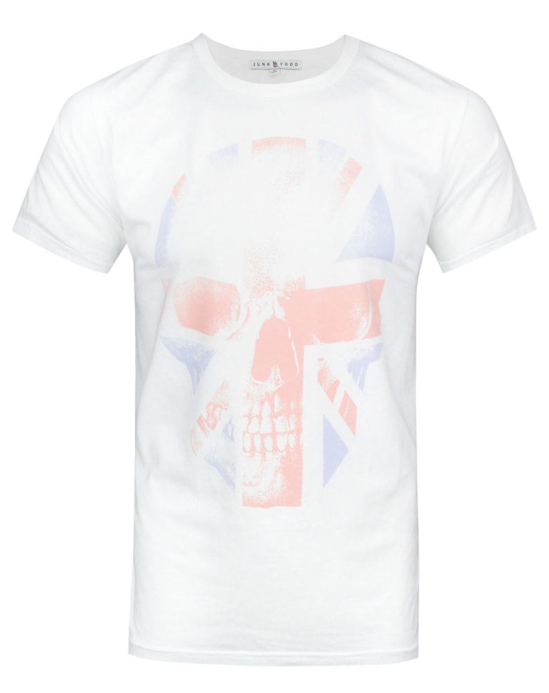 Junk Food Union Jack Skull Men's T-Shirt
