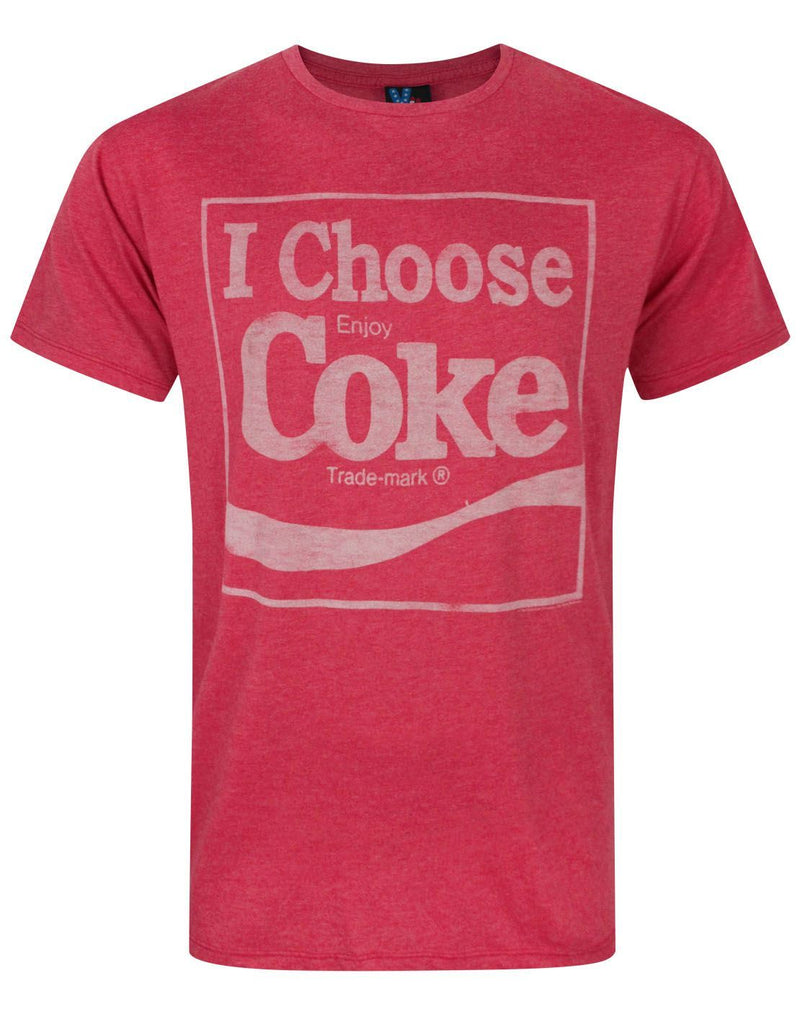 Junk Food Coca Cola I Choose Coke Men's T-Shirt