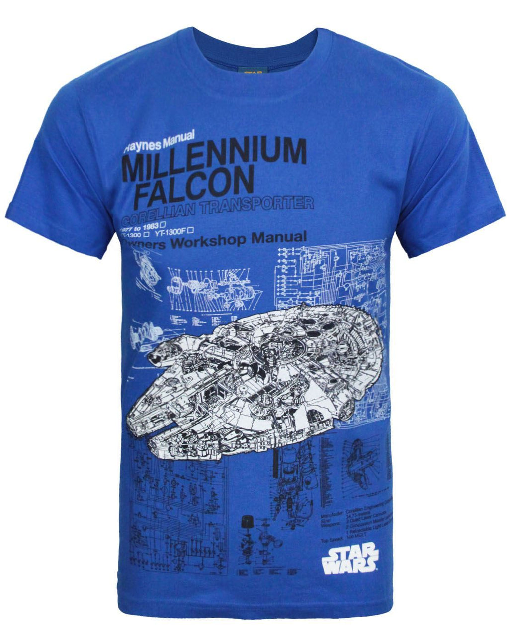 Haynes Star Wars Millennium Falcon Men's T-Shirt