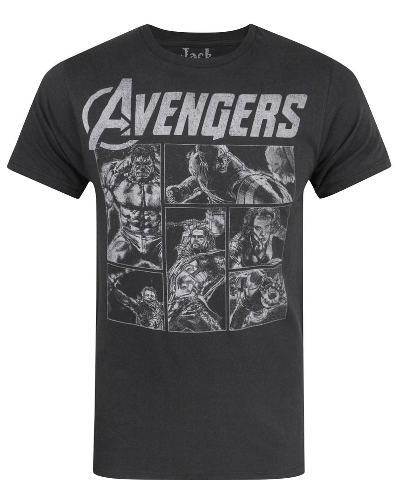 Jack Of All Trades Avengers Panels Men's T-Shirt