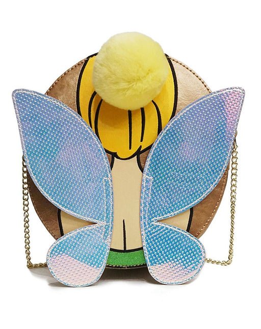 Danielle Nicole Disney Peter Pan Tinker Bell Cross Body Designer Bag