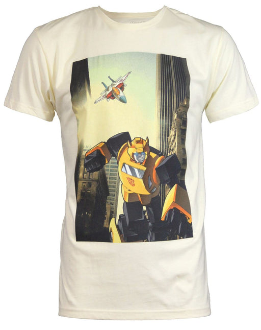 Goodie Two Sleeves Transformers Bumblebee Men's T-Shirt