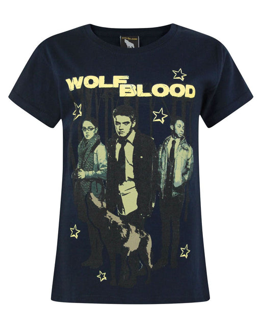 Wolfblood Characters Blue Short Sleeve Girl's T-Shirt