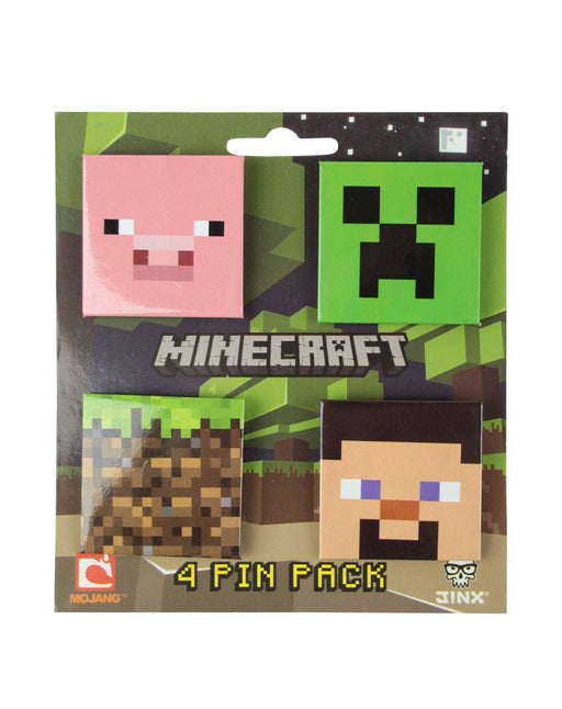 Minecraft Pin Badge Pack