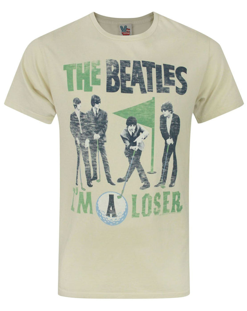 Junk Food The Beatles I'm A Loser Men's T-Shirt